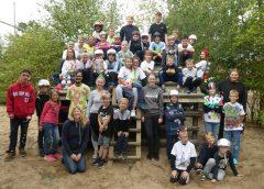 39 Kids im Weltall-Camp Eltze